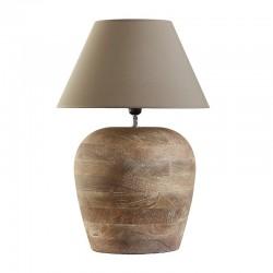 lampa stołowa drewniana 15958