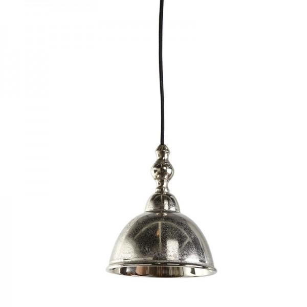 lampa wisząca metalowa srebrna Amelia 3034657