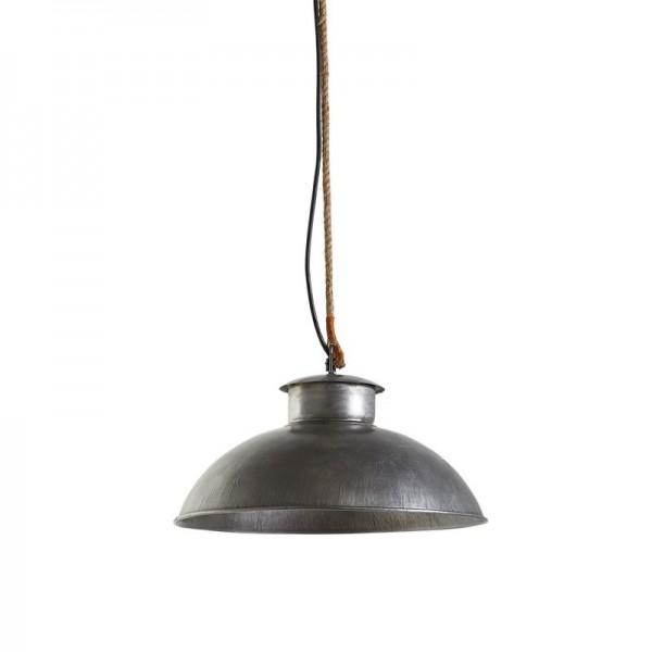 lampa wisząca metalowa industrialna 4728
