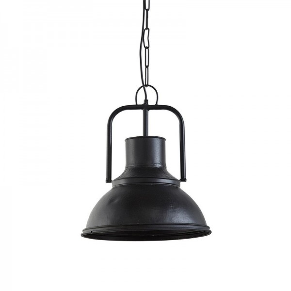 lampa wisząca metalowa czarna 15015A