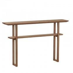 konsola drewniana dębowa Genova