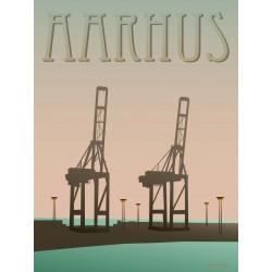 Aarhus Harbour plakat