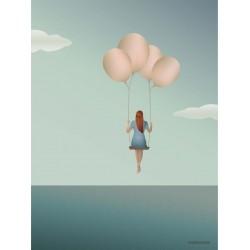 Balloon dream plakat