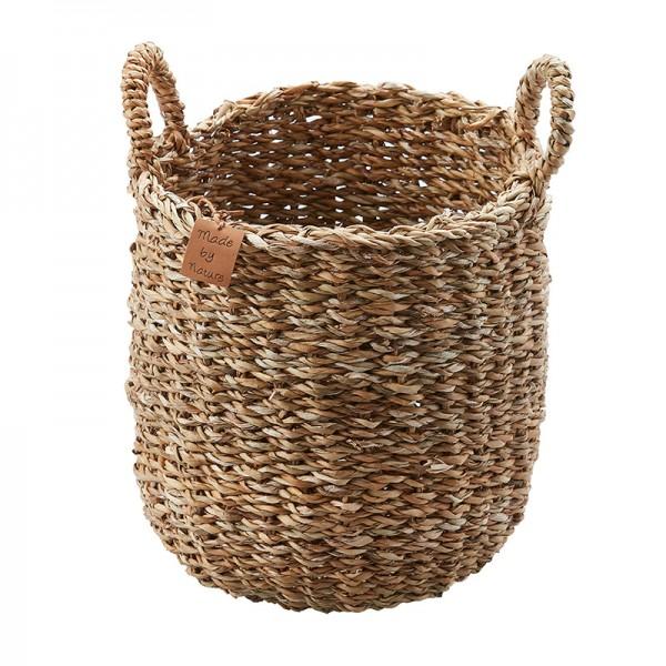 koszyk z uchwytem seagrass C