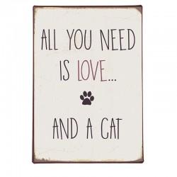 tabliczka All You Need is Love 8980-00