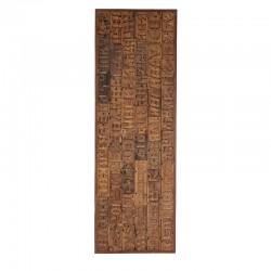 dekoracja ścienna drewniana 2363-00