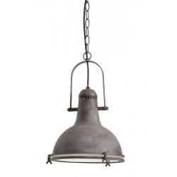lampa wisząca metalowa industrialna Wismar 3042649