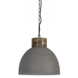 lampa wisząca metalowa szara Samana 3074282