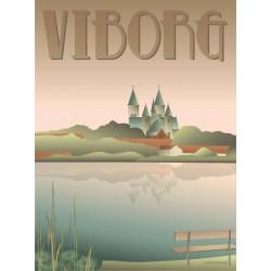 Viborg lakes plakat