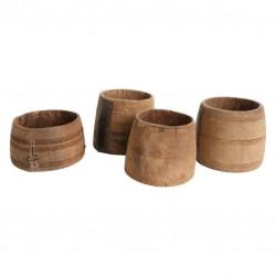 miska drewniana 00030b