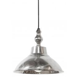 lampa wisząca metalowa srebrna Aniek 3034857