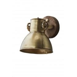 Kinkiet metalowy złoty Kinihome 17900