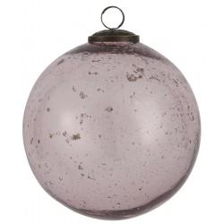 bombla szklana różowa 8644-43