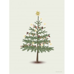 The Christmas tree plakat Vissevasse