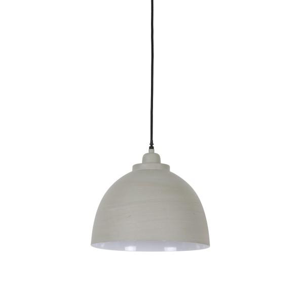 Lampa wisząca metalowa szara Kylie Light&Living 3036021