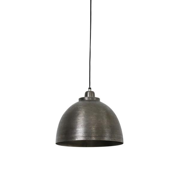 Lampa wisząca metalowa srebrna Kylie Light&Living 3036019
